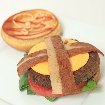 Refocused Vegan Bacon Cheeseburger Baltimore